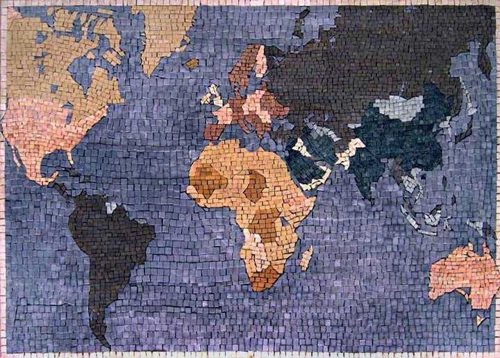 Mosaic Designs - World Map