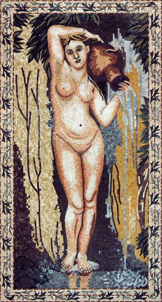 "Jean Auguste Spring"" - Mosaic Reproduction """