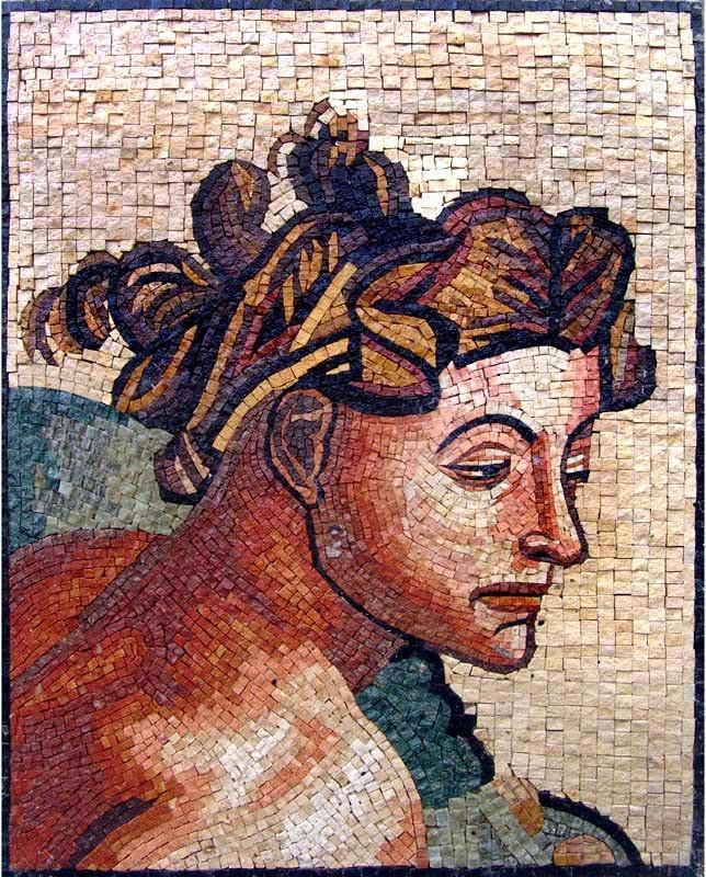 Mirrors of Memory - Michelangelo Mosaic Art
