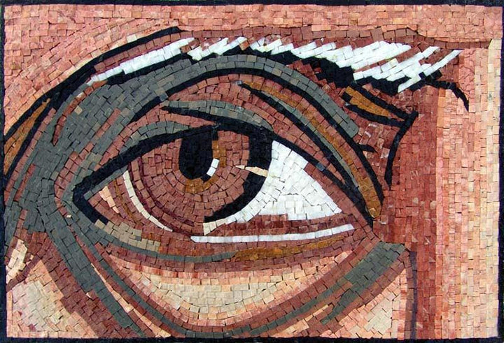 "Oceanus Eye"" - Mosaic Reproduction """