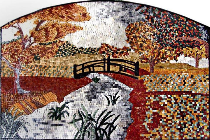 Arched Mosaic Nature Art