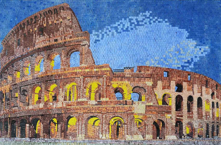 Mosaic Designs - Roman Colosseum