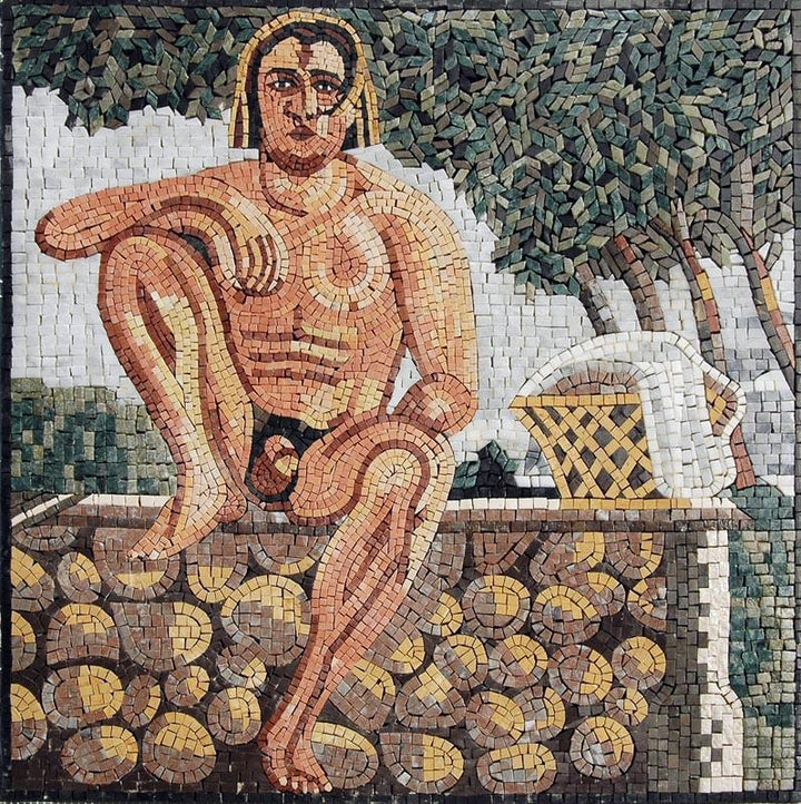Ancient Scene Mosaic