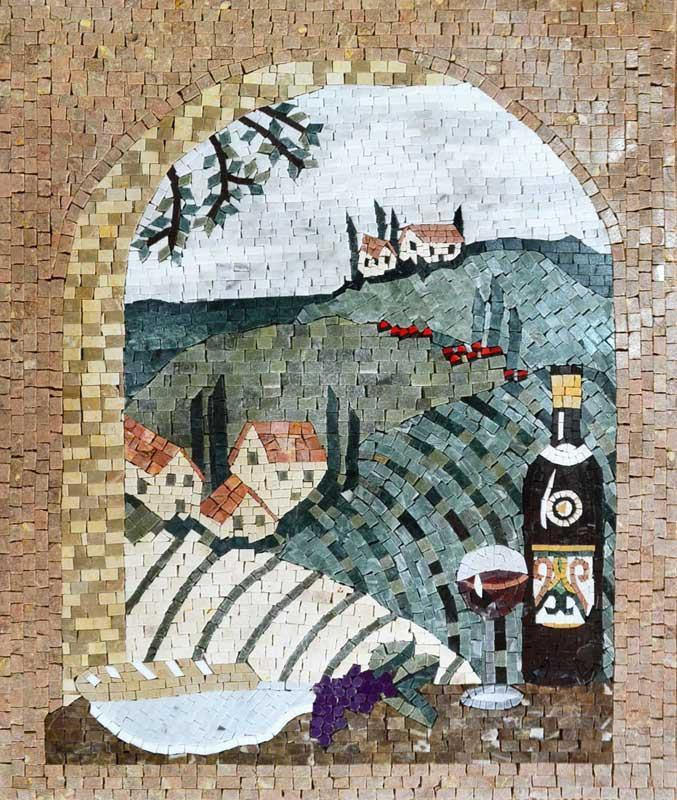 Mosaic Art For Sale- Villaggio