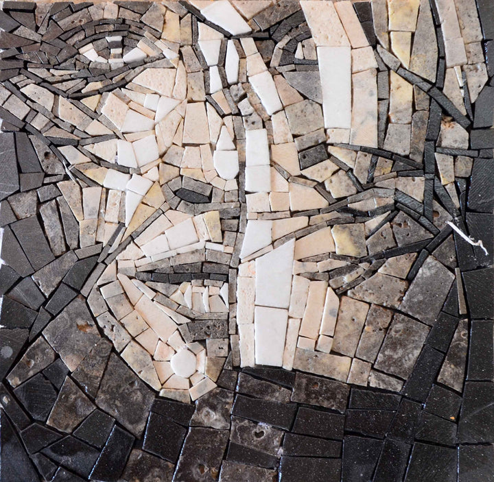 Woman Face Position 2 Mosaic