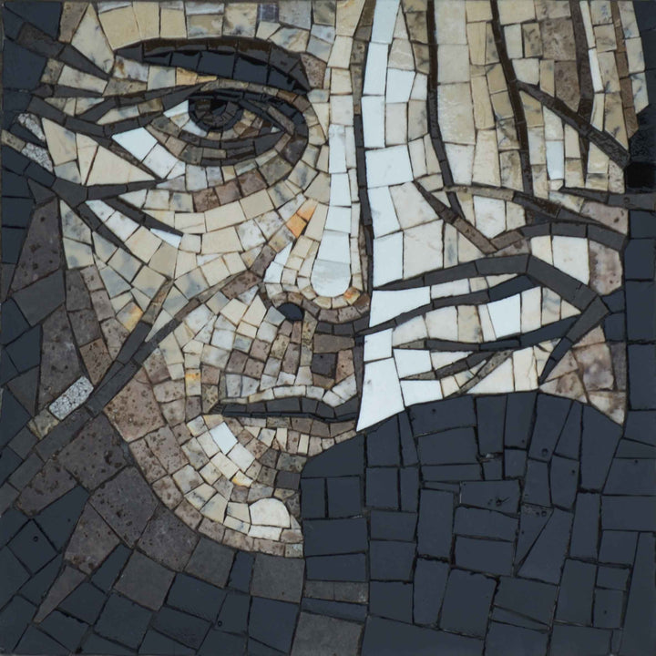 Abstract Mosaic - The Face of man