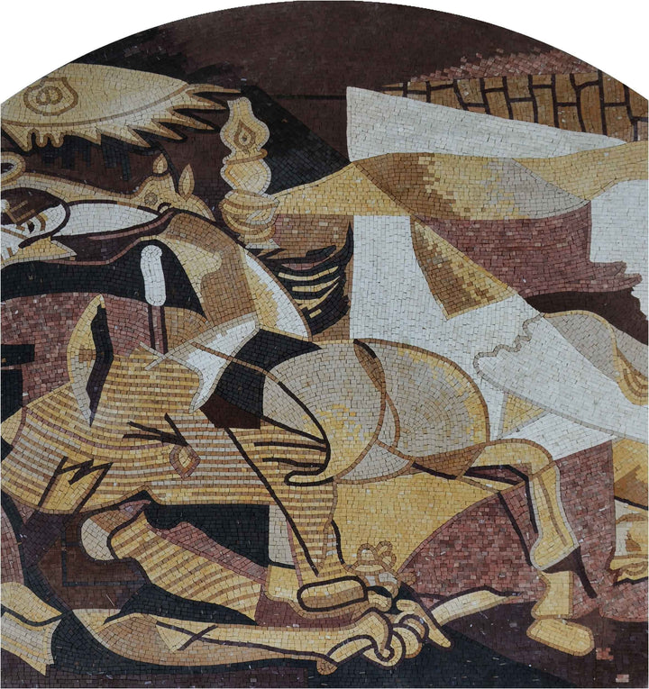 "Pablo Picasso Guernica"" - Mosaic Reproduction """