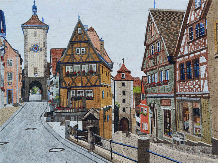 Mosaic Patterns - Rothenburg ob der Tauber Germany