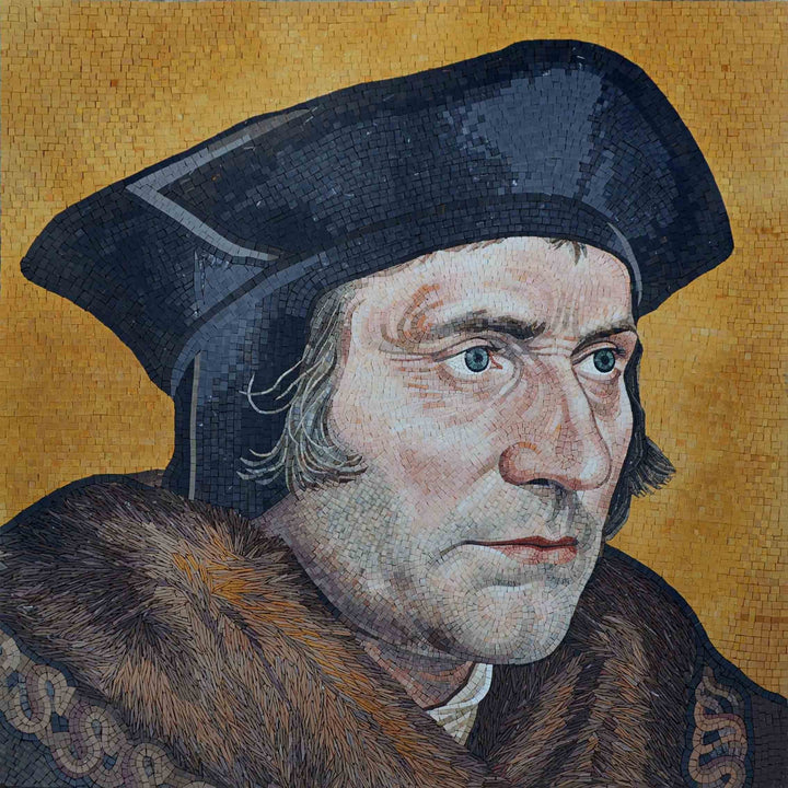 Mosaic Portrait - Sir Thomas More