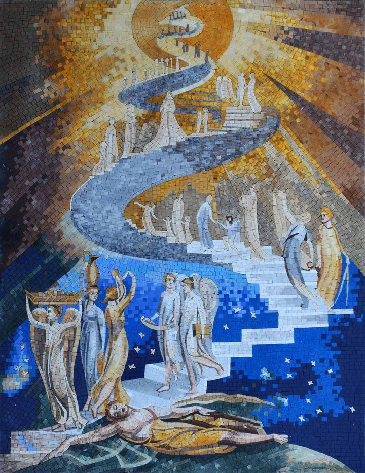 Mosaic Reproduction - Jacob's Ladder
