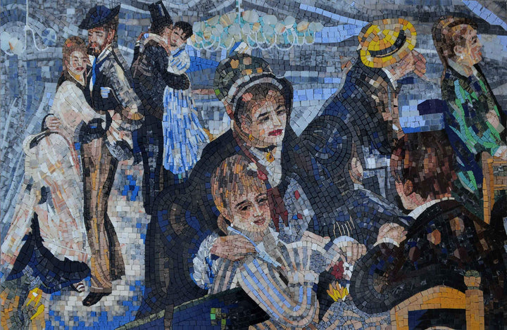 Mosaic Art - Ball at the Moulin de la galette