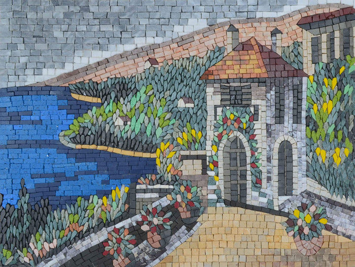 Getaway by the Sea - Mosaic Art