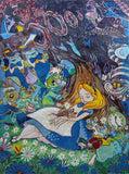 Alice in Wonderland - Dreaming in Colors Mosaic