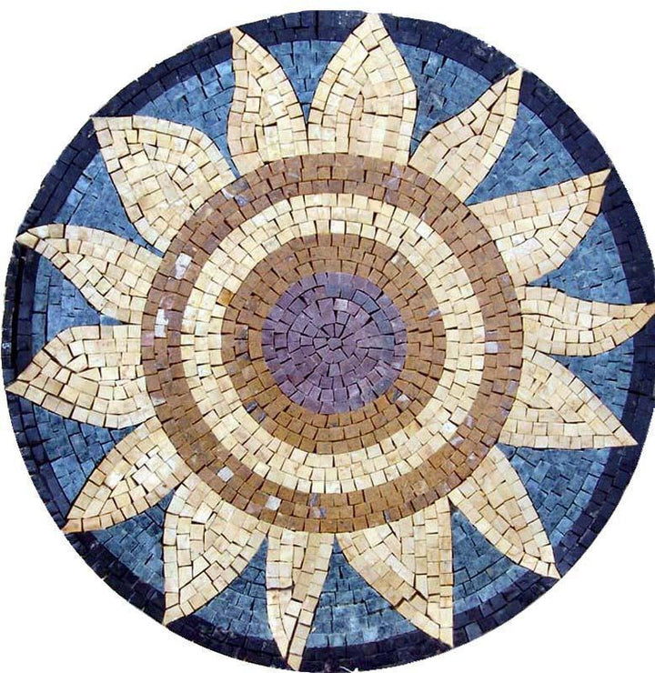 Medallion Mosaic Designs - The Sunflower