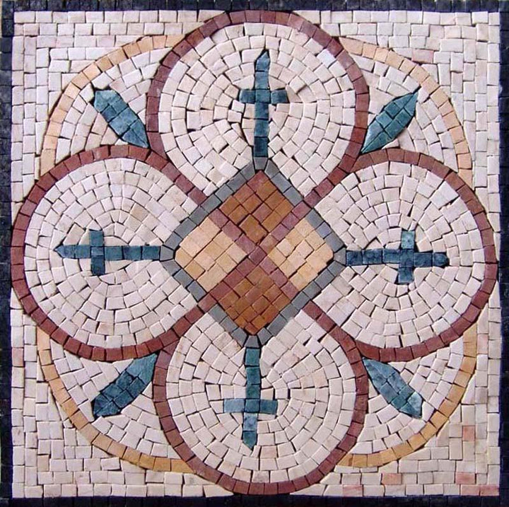 Natural Stone Mosaic - Dreamcatcher