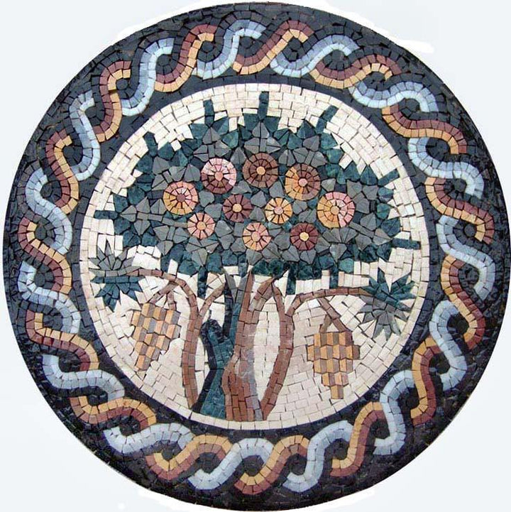 Mosaic Pattern- Fruitful Tree