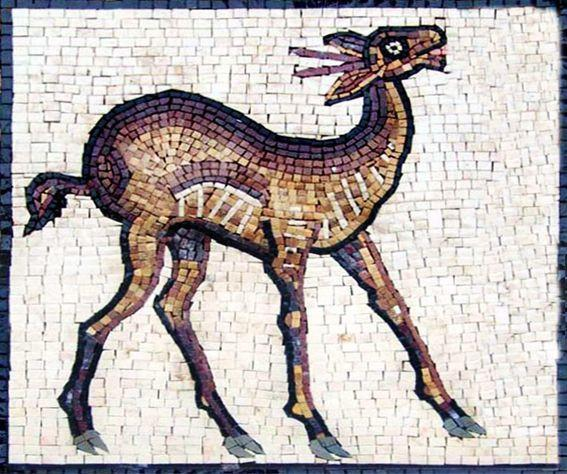 Lama -  Animal Mosaic Designs