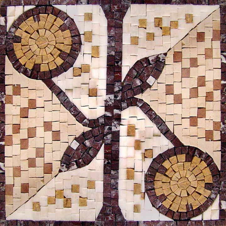 Balance Abstract Art-Tile Mosaic Patterns