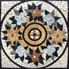 Mosaic Artwork - Yellow Chrysanthemum