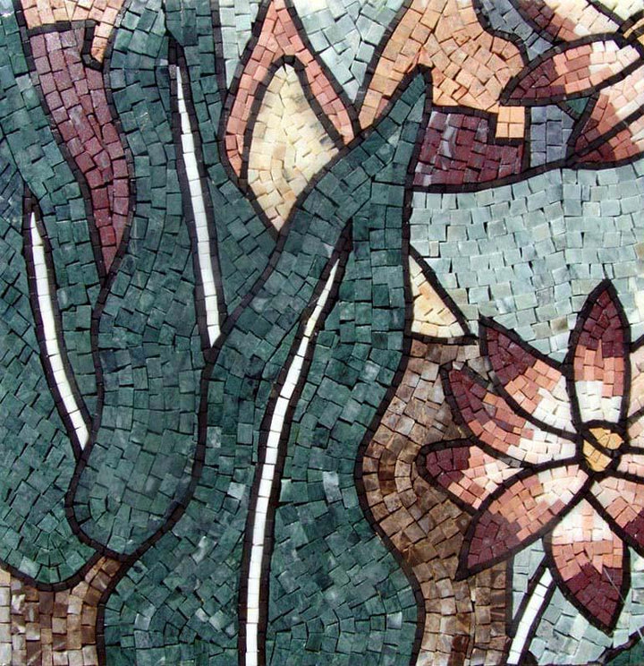Mosaic Tile Patterns - The Lotus River
