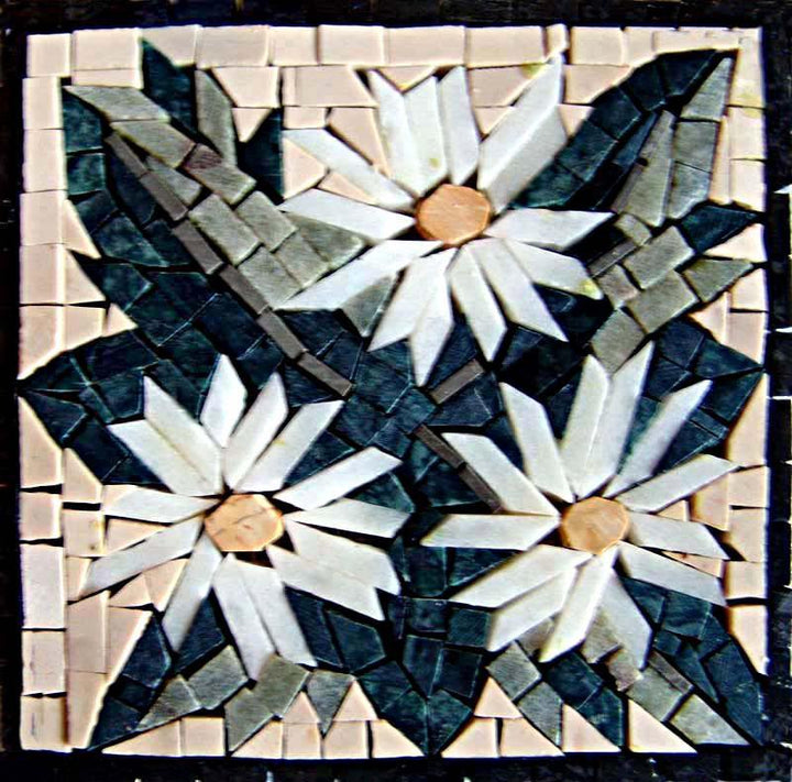 Mosaic Art - Flower Of Innocence