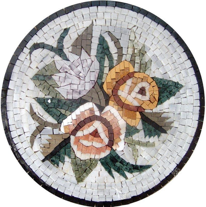 Medallion Mosaic - The Accent Flower