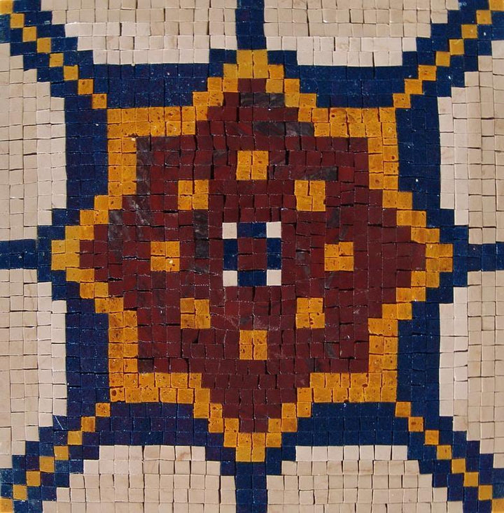 Mosaic Accent - Turkish Iznik Tile