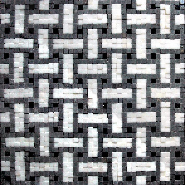 Geometric Accent Tile - Bara Mosaic