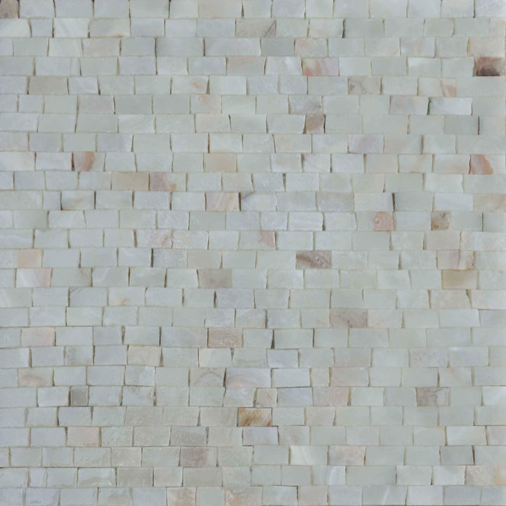 Marble Mosaic Sheet-Honey Onyx