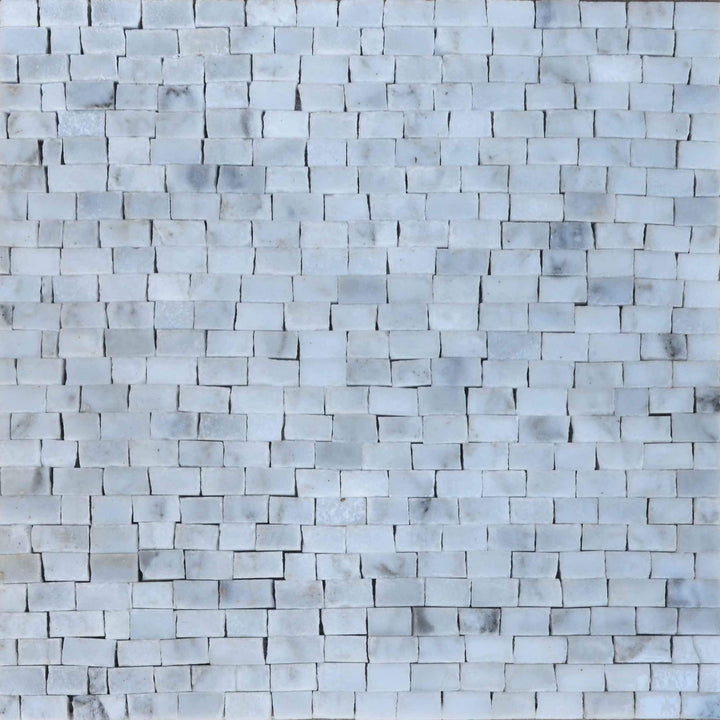 Marble Mosaic Sheet - Cristalino Light