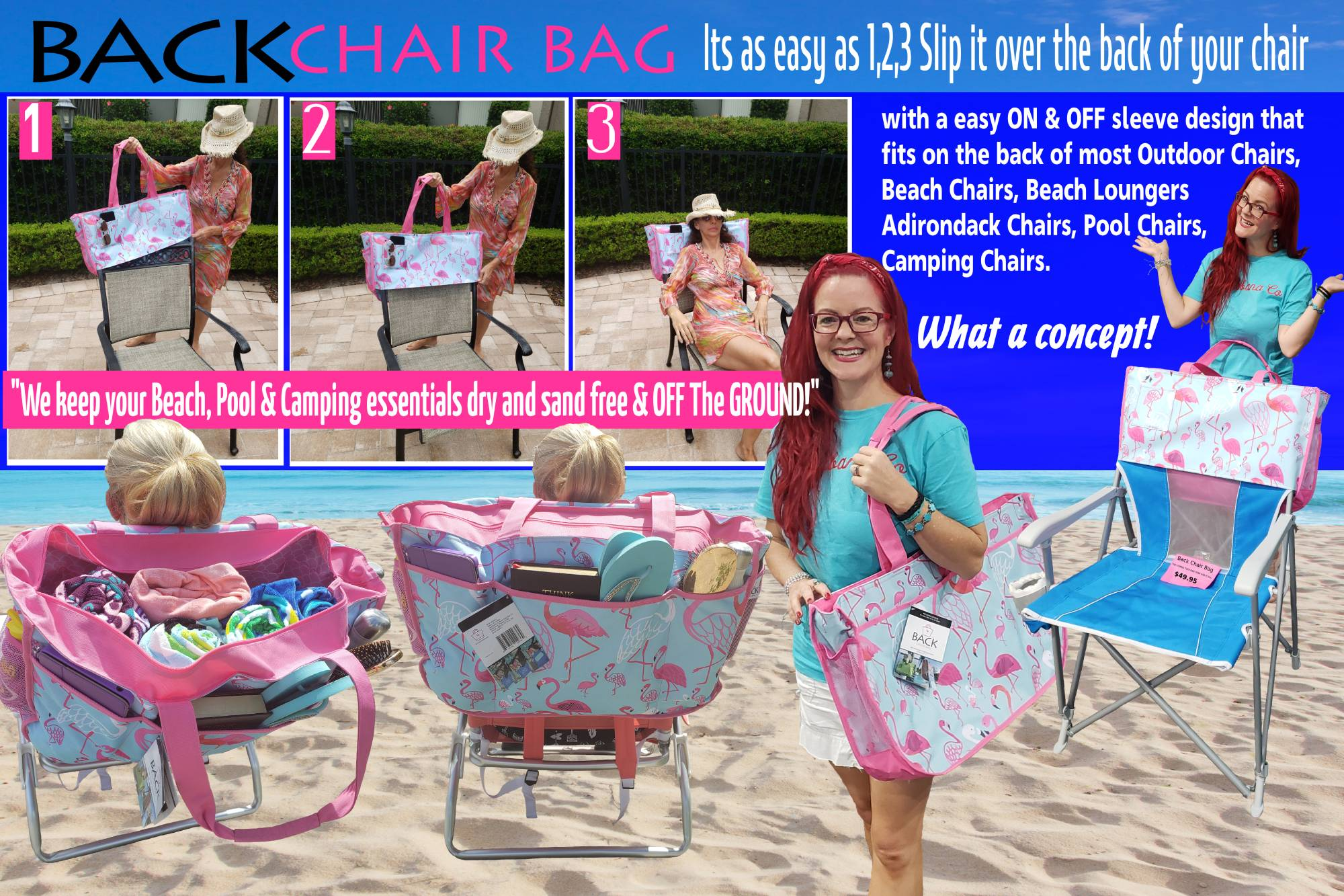 Contact Back Chair Bag