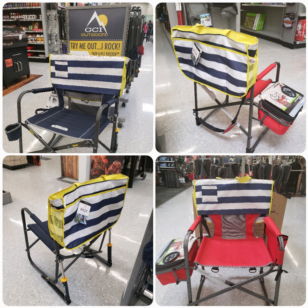 GCI camping chairs