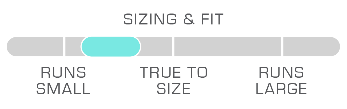 Size Chart Regular Fit