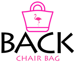 Back Chair Bags logo for there beach bags flamingo