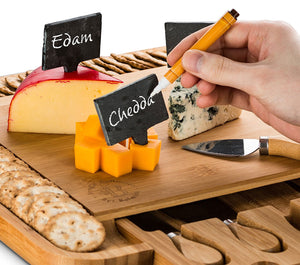 Bambusi Cheese & Charcuterie Buffet Cutting Board