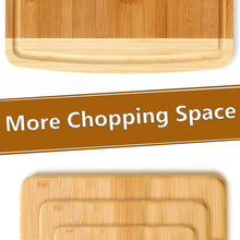 Bambusi 4-Set Antibacterial Cutting Boards