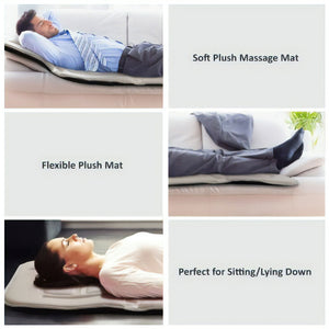 Belmint 10-Motor Plush Massage Mat for Full-Body Relief features Switchable Heat
