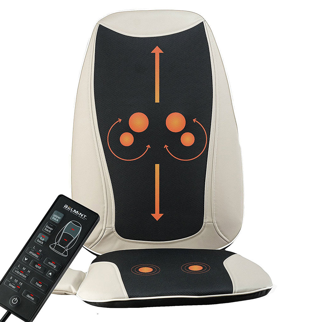 Belmint Shiatsu Massage Seat Cushion with Heat