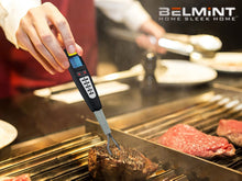 Belmint Advanced Digital Meat Thermometer w/ Instant Probe Reading & 5 Selectable Preset BBQ / Cooking Programs