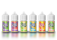 Cloud Nurdz Salts 30ml E-Liquid product shot group