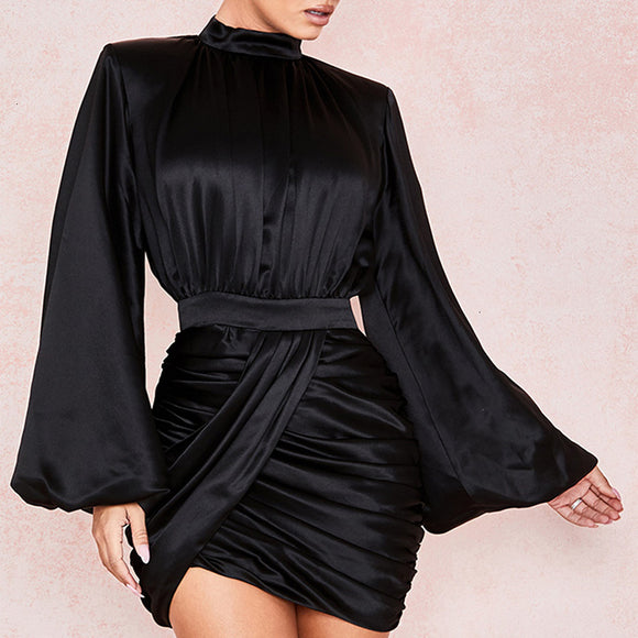 Mini Pleated Party Dress