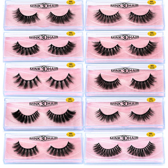 3D 100% Mink Eyelash Extension