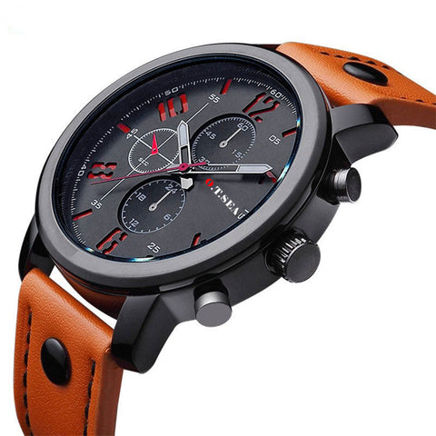 O.T.SEA Mens Casual Military Sports Wrist Watch