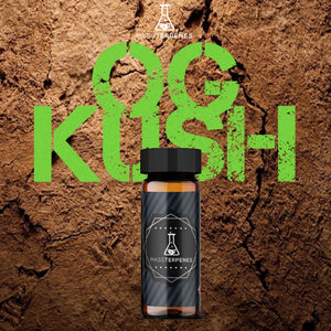 OG Kush Terpenes natural background