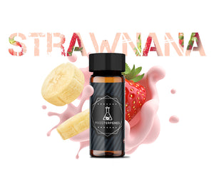 Strawnana Strain image - strawberry banana strain white background