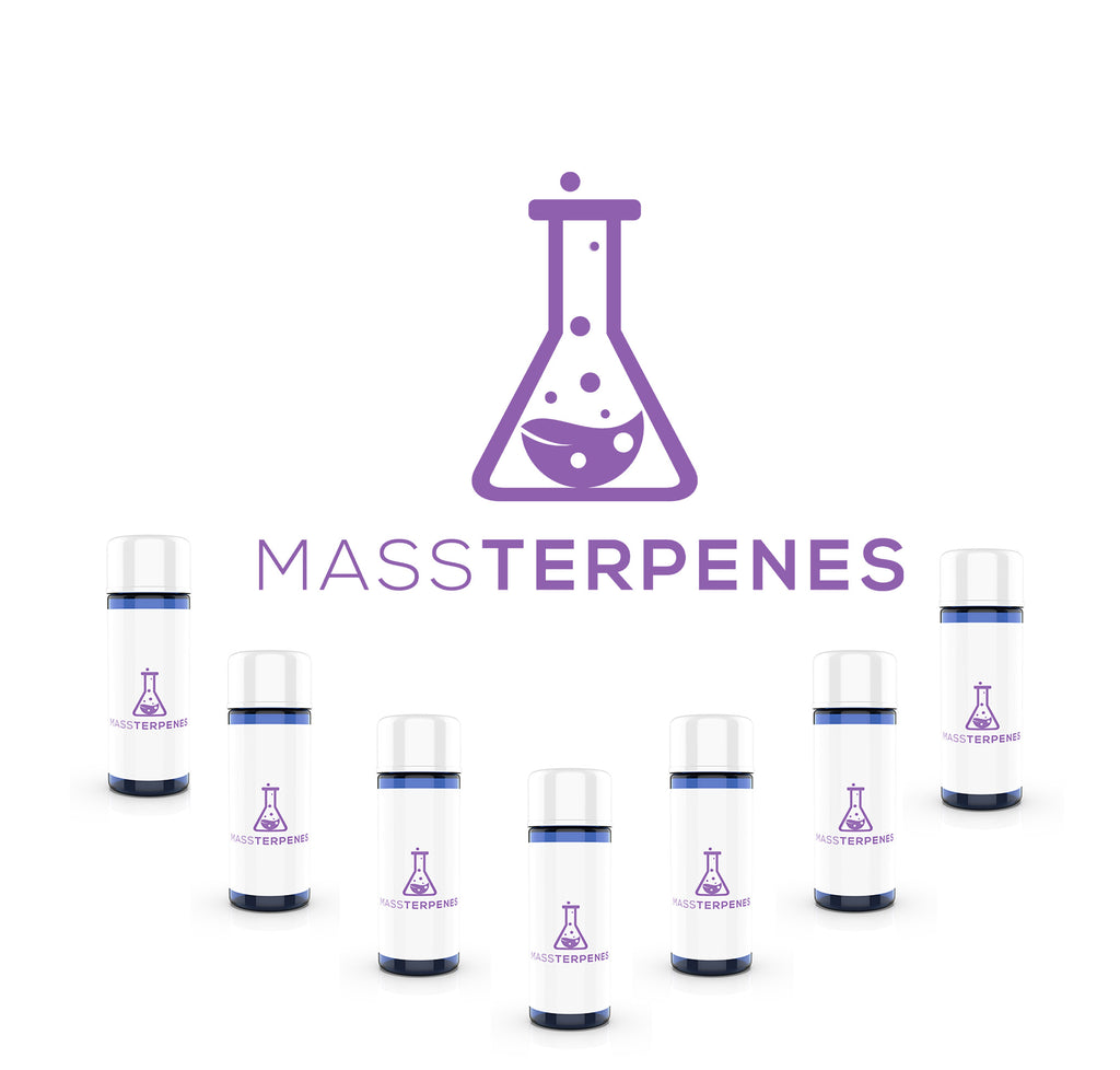 7 bottles of terpenes on sale