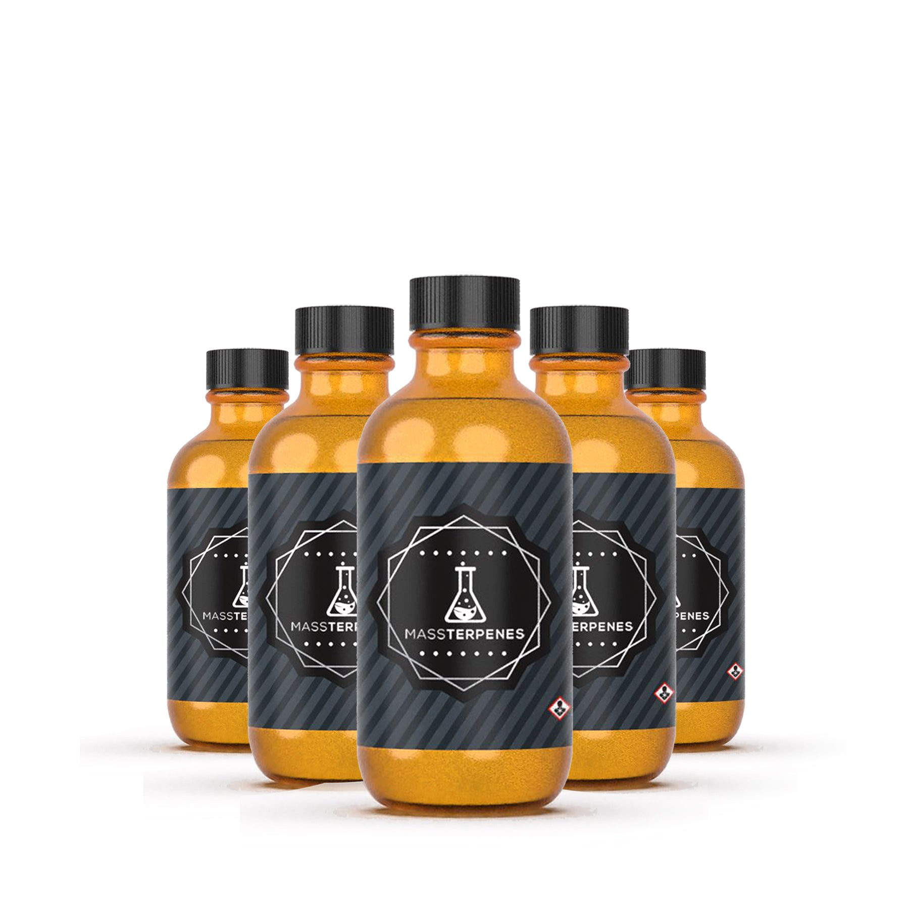 wholesale terpenes in group of bottles