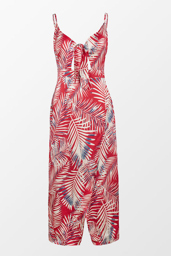 Reagan Tropical Knotted Dress