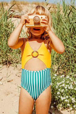 One-Piece Swimsuit For Toddler Girls and Girls