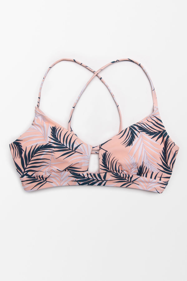 Blaire Lace Up Bikini Top